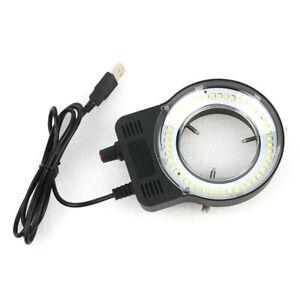 48-LED-SMD-USB-LaMpara-de-Iluminador-de-Luz-de-Anillo-Ajustable-para-Micros-U5S4