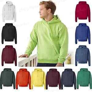 Hanes-Mens-Womens-EcoSmart-Hooded-Sweatshirt-Sizes-S-4XL-Pullover-Hoodie-P170-PI