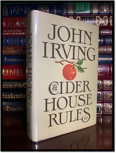 The-Cider-House-Rules-by-John-Irving-Hardback-1st-Edition-First-Printing