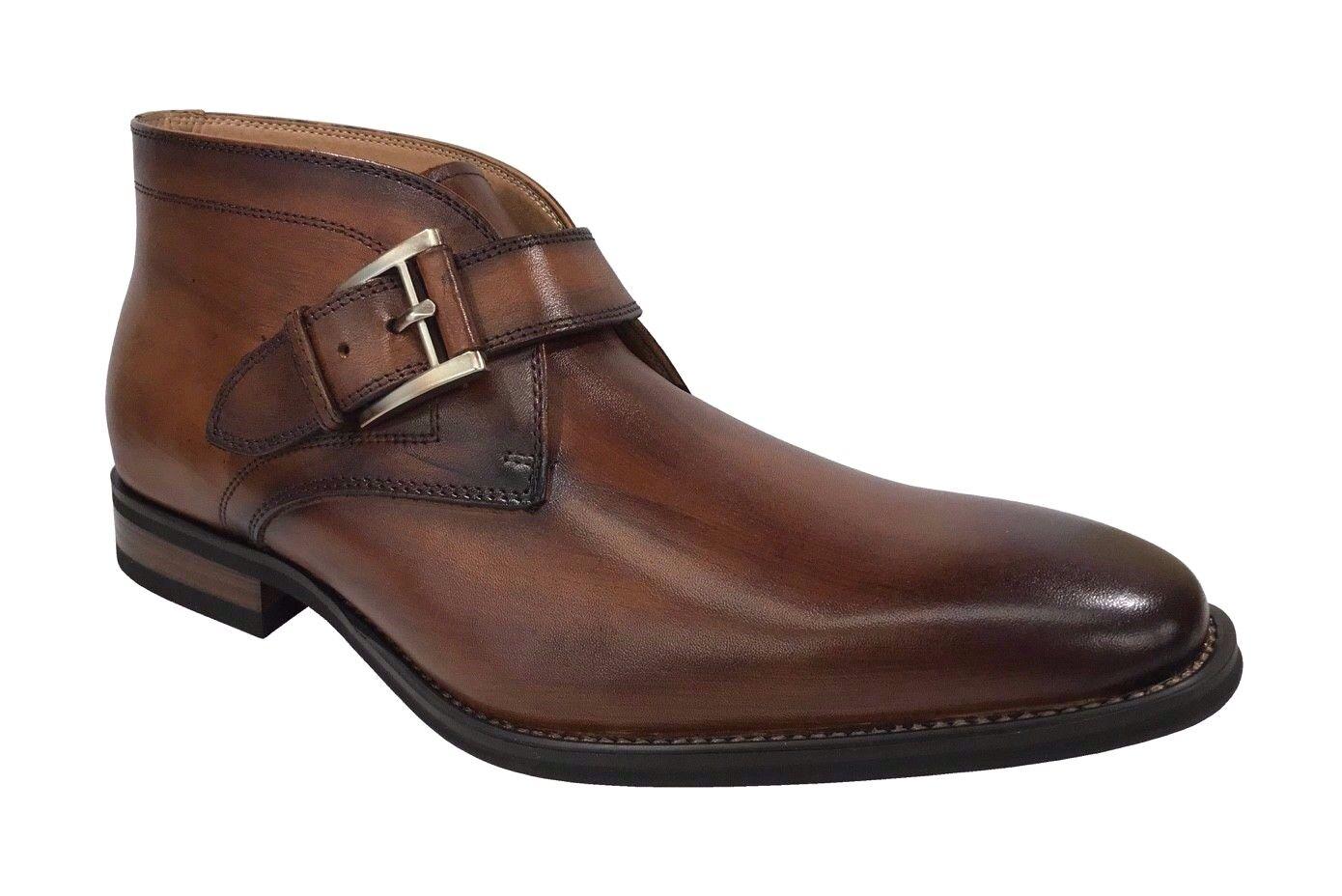 grandi risparmi La Milano Uomo Monk Strap Strap Strap Cognac Dress stivali B51717  garanzia di credito