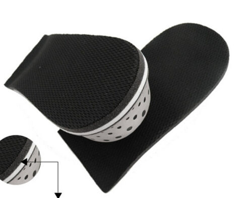 Insole Heel Lift Insert Shoe Pad Height Increase Cushion Elevator Taller cuBL PL