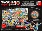 """Wasgij """"imagine 2 If The Wheel Hadnt Been Invented"""" Jigsaw Puzzle 1000-piece"""