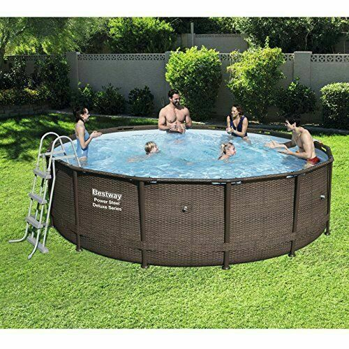 Bestway Swimming Pool Pump Ladder Filter Cover Mat Steel Frame 14ft X 42\