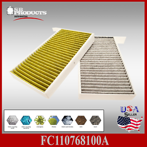 For Tesla Model 3 Auto Cabin Air Condition Filter Activated Carbon Replacement