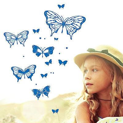 10768 Finestre Adesivo Parete Tatuaggio Loft Farfalle Punti Decorazione Butterfly-