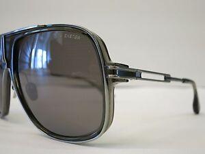bf4d0db71e9 DITA EXETER Grey Smoke Antique SIlver Dark Grey Glasses Eyewear ...