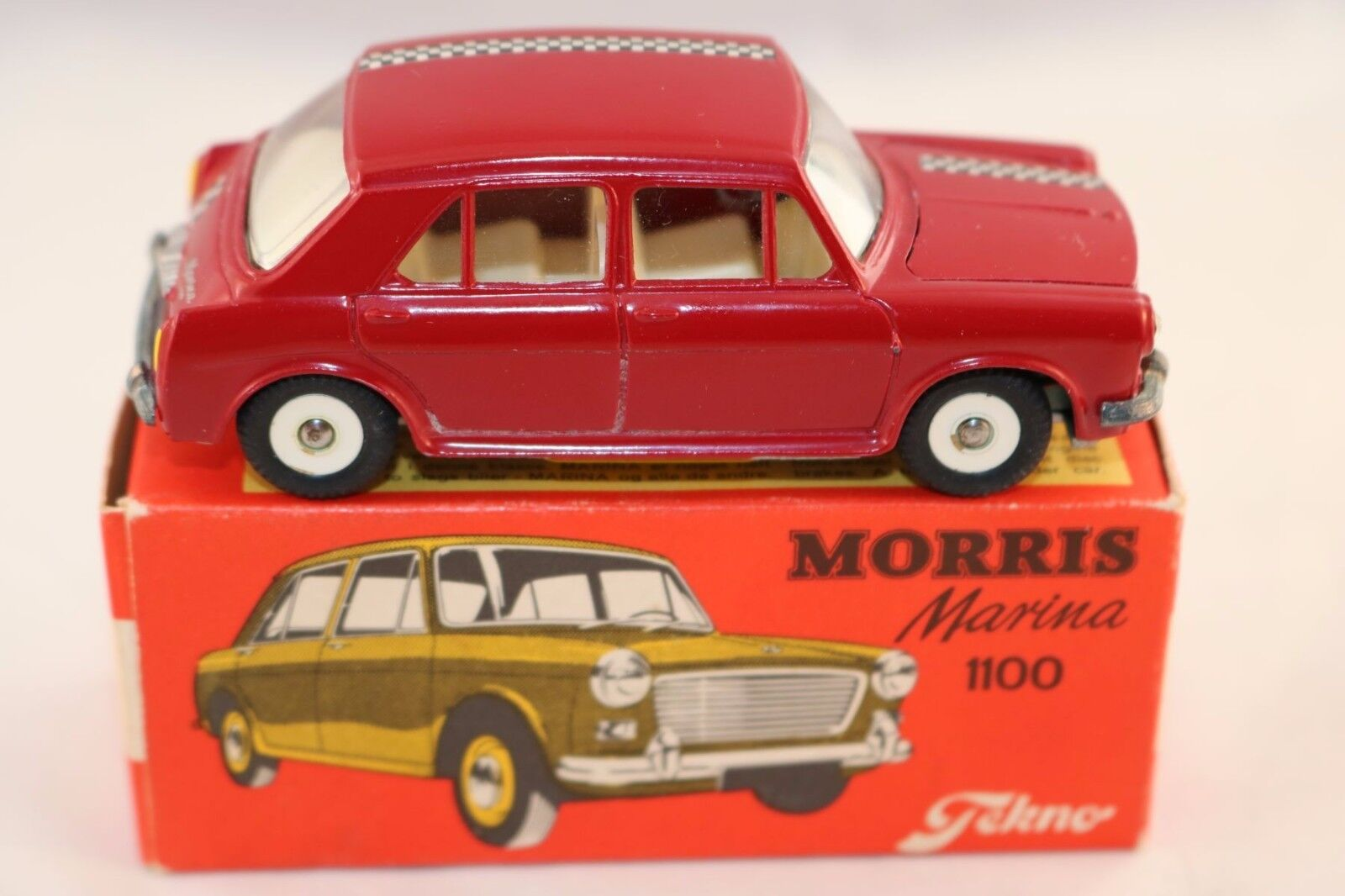 Tekno Denmark 831 Morris Marina 1100 perfect mint in box what a beauty