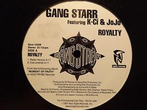 GANG-STARR-ROYALTY-12-034-1997-RARE-DJ-PREMIER-GURU-K-CI-amp-JOJO
