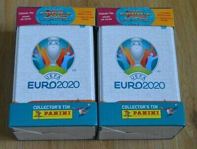 Panini Adrenalyn XL UEFA Euro em 2020 2x Mega Tin box 2 X Limited Edition