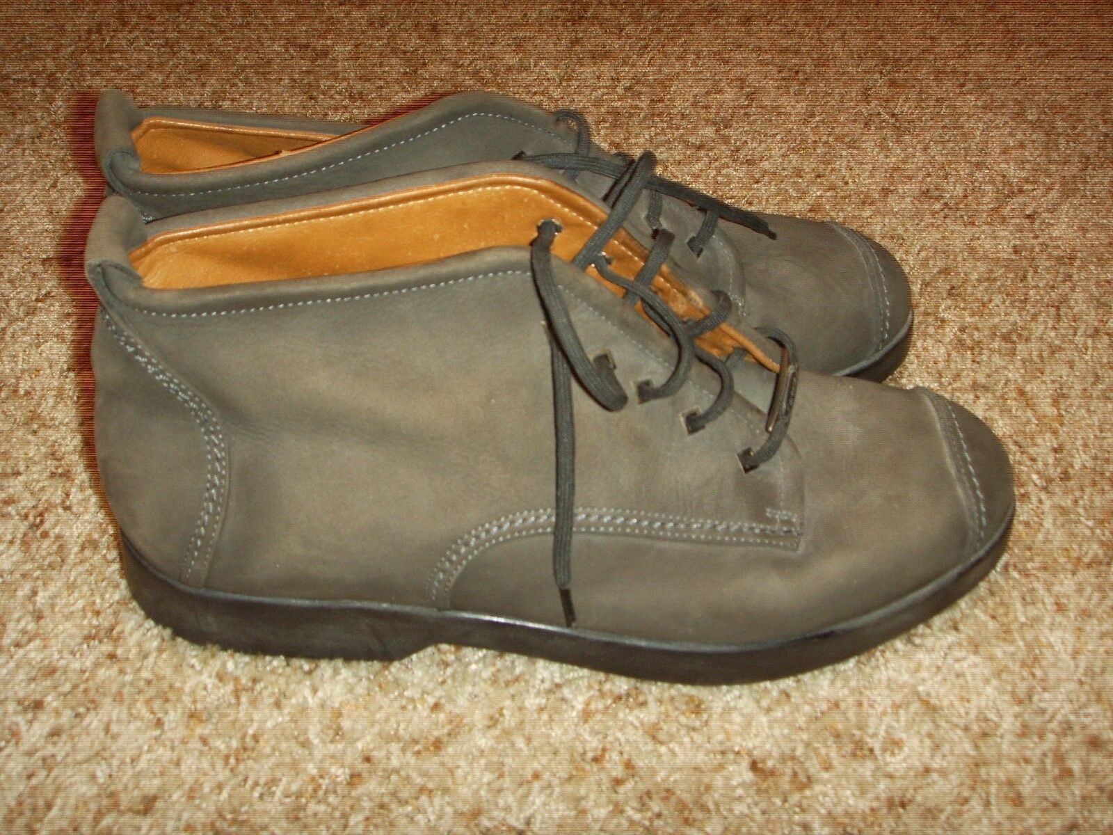 Cadillac By Foreste Suede Captoe Stivali Made In Italy Uomo Size 44