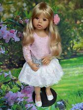 "Masterpiece Dolls Cassi Long Blonde Hair,Exclusive Blue Eyes, Monka Levenig, 34"""