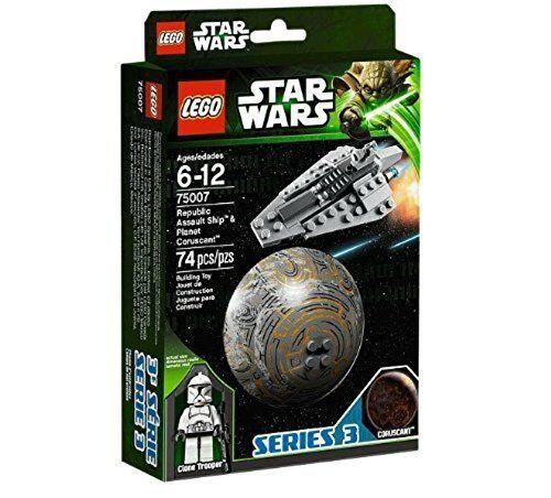 Lego Star Wars Republic Assault Ship & Coruscant 75007