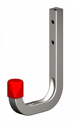 Silverline Tools 677041 Garage Ladder Hooks Set Set of 2 Pieces Black