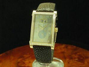 A-Lange-amp-Sohne-Cabaret-18kt-750-Oro-Cuerda-Manual-Reloj-de-Mujer-Ref-827-043