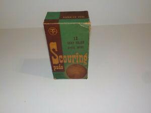 Vintage JEWEL TEA T Scouring Pads Box Advertising