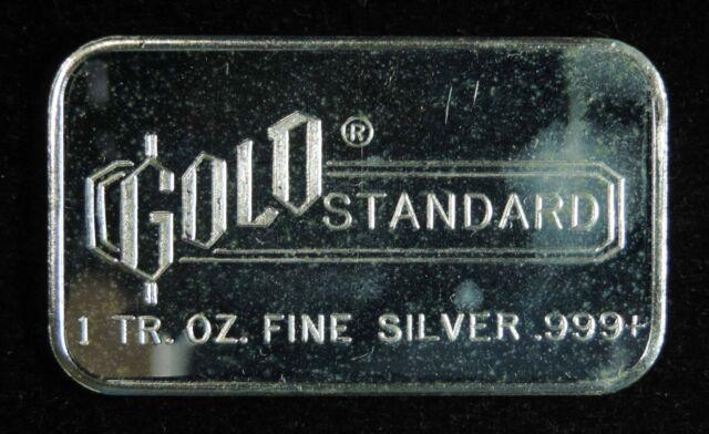1 Oz Engelhard Silver Bar Gold