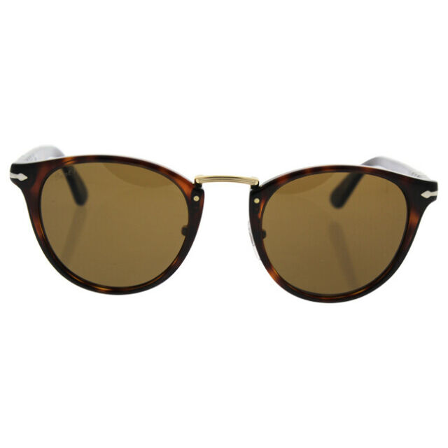 4d59caa1e5 Persol PO 3108s 24 57 CAFFE Frame Brown Polarized Lens Sunglasses 49 ...