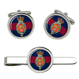 Blues-and-Royals-Cypher-British-Army-Cufflinks-and-Tie-Clip-Set