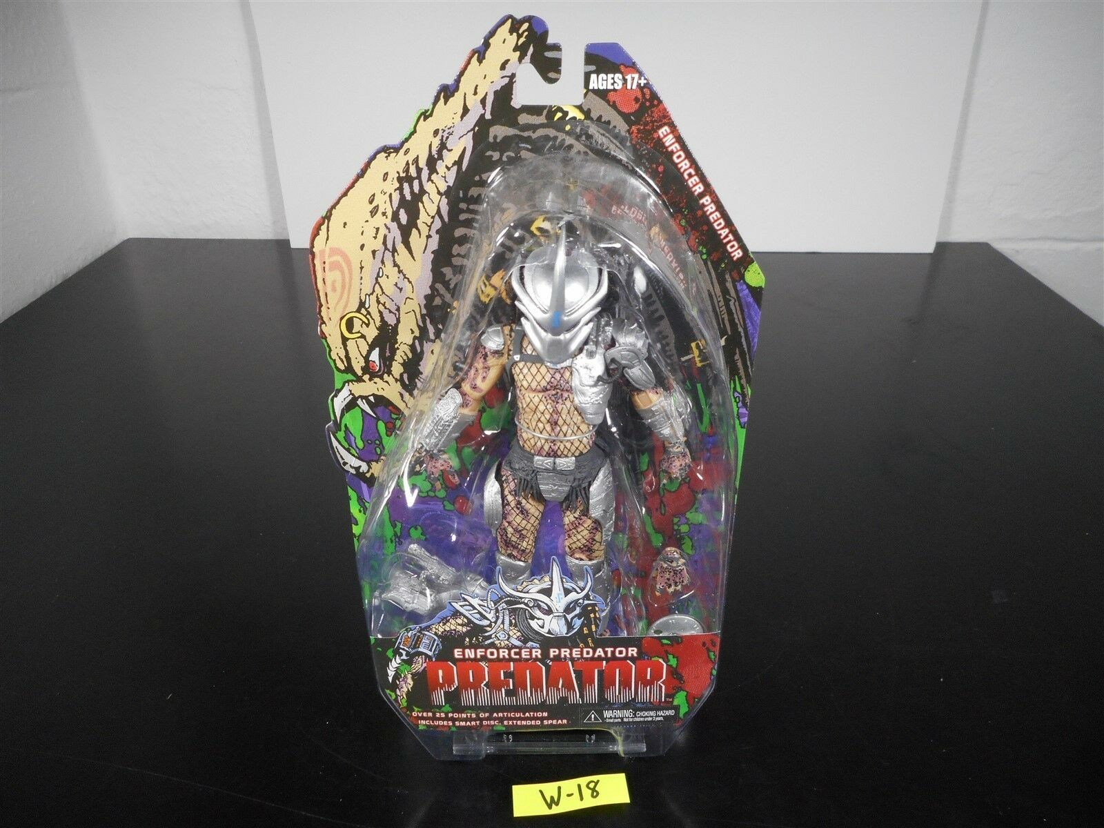NEW   ENFORCER ProssoATOR NECA ACTION FIGURE 2014 INCLUDES EXTENDED SPEAR W-18