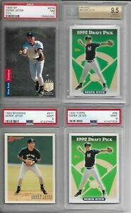 1993-SP-Derek-Jeter-GRADED-PSA-amp-BGS-Rookie-Card-RC-LOT-ALL-GRADED-PSA