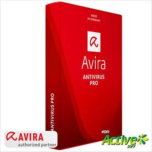 Avira Antivirus Pro 2019 5 PC / Geräte 2Jahre