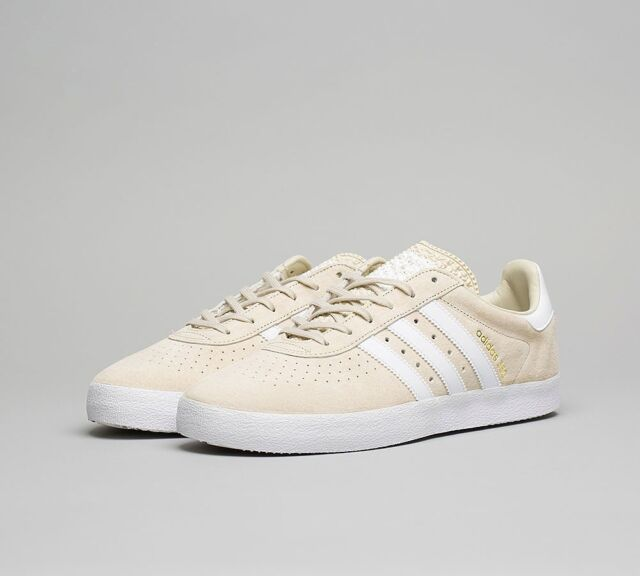 new style 0b7ba 3aa26 Unisex Adidas Originals 350 Clear Brown (Beige) Retro Fashion Trainers 3.5  -13.5