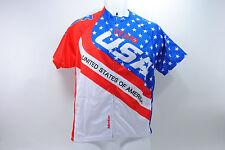 TOUR DE FRANCE TEAM USA CYCLING JERSEY, LARGE