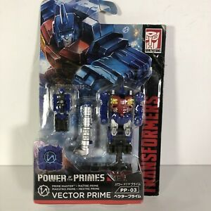 Transformers Japan Market Power of the Primes Figure Vector Prime Takara Tomy
