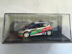 DIE-CAST-034-FORD-FIESTA-RS-WRC-M-HIRVONEN-J-LEHTINEN-RALLY-SWEDEN-2011-034-1-43