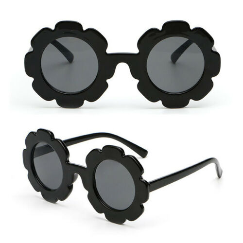 Unisex Girl Boy Kids Flower Outdoor Goggles Sunglasses Soft Plastic UV400 NEW US