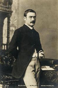 Bourne & Shepherd Photo - Rudyard Kipling, 1892