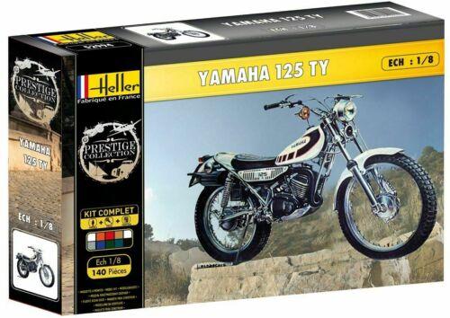 52994 Heller YAMAHA TY 125//ty125 KIT 1:8 MODEL KIT MOTO MOTO ART