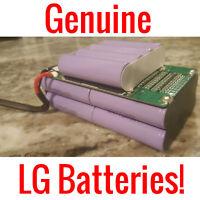 10 Lg 36v 4.4ah Battery Pack 18650 Ebike Vape Powerwall Batteries 200 Cells Bms
