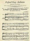 A Prayer of St Richard of Chichester by Oxford University Press (Sheet music, 1947)