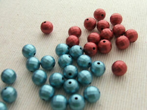20-x-10mm-facet-round-acrylic-beads-metallic-matte-pearl-effect