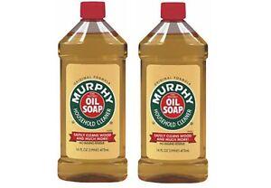 Murphy Oil Soap 2 Bottles 16oz Each Ebay