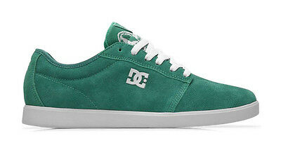 DC - CHRIS COLE S Mens Shoes NEW Sizes 8-11 GREEN SUEDE Skate Footwear FREE SHIP