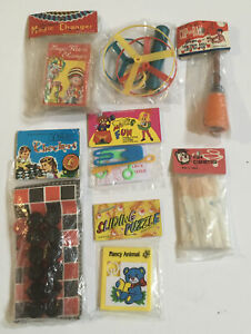 New-Vintage-Novelty-Magic-amp-Toys-Kids-Checkers-Puzzle-Puffers-Flower-Changer