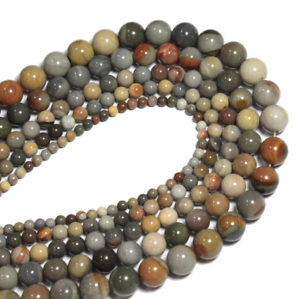 For-Bracelet-Jewelry-DIY-Natural-American-Drawing-Stone-Loose-Beads-4-6-8-10mm