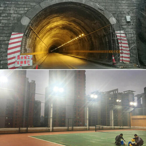 High Power CREE LED Outdoor Flood Light Waterproof Wall Wash Lamp Factory Tunnel