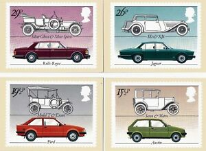 GB 1982 PHQ Cards Mint SetBritish Cars4PHQ63UK Seller - great yarmouth, Norfolk, United Kingdom - GB 1982 PHQ Cards Mint SetBritish Cars4PHQ63UK Seller - great yarmouth, Norfolk, United Kingdom