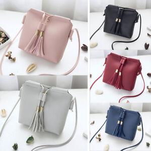 Women Lady Leather Handbag Shoulder Cross Body Bag Tote Messenger ... 1e9aa27dfb3f1