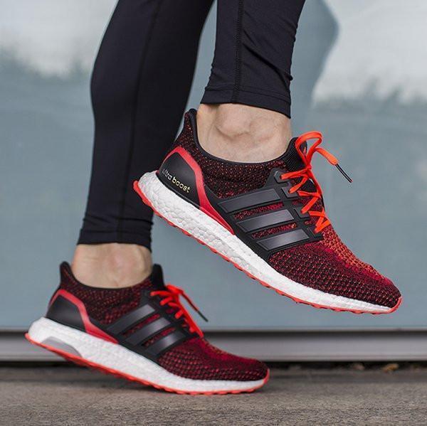 adidas base ultra - - ultra stimuler aq5930 ltd édition noir rouge solaire (2,0 f5d953