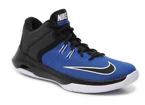 a523101ad60fa7 NIKE Air Versitile II Mid-Top Black+Blue Men s Basketball Shoes ...