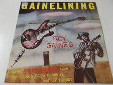 37618 - ROY GAINES - GAINELINING - 1981 VINYL LP MADE IN GREAT BRITAIN (RL0035)