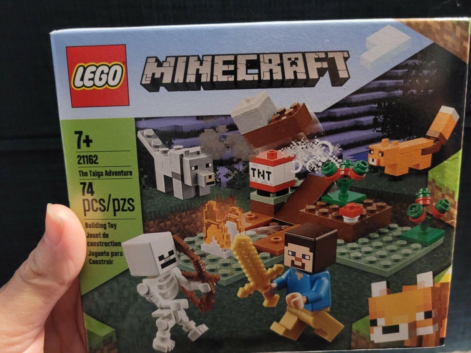 21162 LEGO Minecraft The Taiga Adventure Set 74 Pieces Age 7+