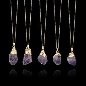 gemstone-crystal-amethyste-pendentif-la-pierre-naturelle-collier-longue-chaine