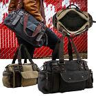 Vintage Large Canvas Men's Travel Luggage Shoulder Bag Tote Gym Overnight Duffle