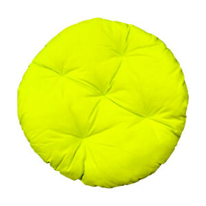 Peachy Details About Round Outdoor 33 Neon Yellow Soft Replacement Cushion Pillow Papasan Pad Seat Machost Co Dining Chair Design Ideas Machostcouk