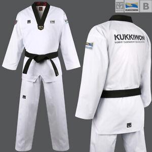 Mooto Official Taekwondo Dobok Uniform Gi Kukkiwon Approved New World TKD Logo